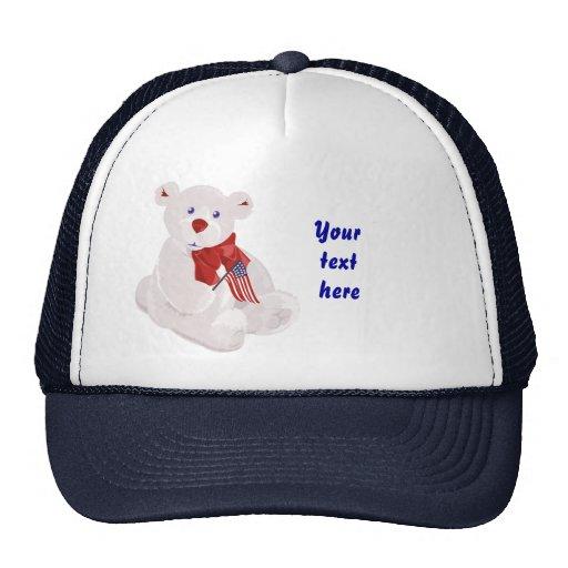Gorra patriótico del oso