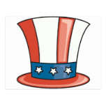 Gorra patriótico postales