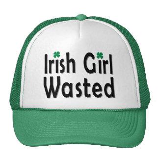Gorra perdido chica irlandés del camionero
