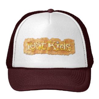 Gorra perdido de los niños