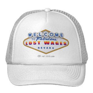 Gorra perdido de Nevada de los salarios del funcio