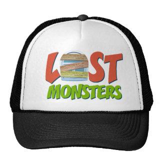 Gorra perdido del camionero de los monstruos