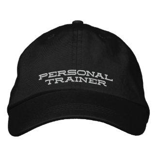 Gorra personal del instructor gorra de béisbol bordada