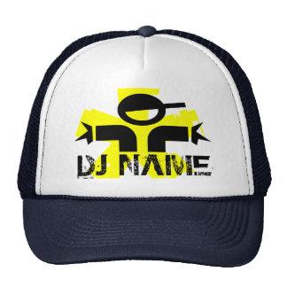 Gorra personalizado de DJ con nombre de encargo