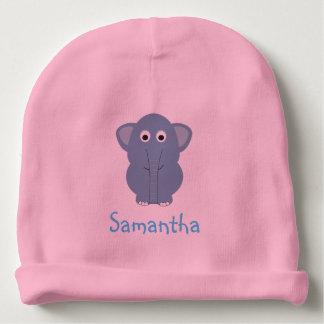Gorra personalizado elefante azul gorrito para bebe