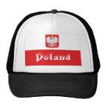 Gorra polaco del recuerdo de la bandera de Polonia