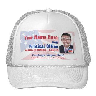 Gorra político de la campaña electoral de - republ