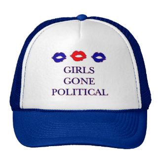 Gorra político ido chicas del logotipo