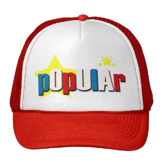 "GORRA ""POPULAR"" DE POLI$HED"