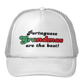 Gorra portugués de las abuelas