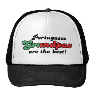 Gorra portugués de los abuelos