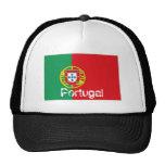 Gorra portugués del recuerdo de la malla del