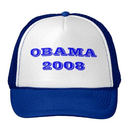 GORRA PRESIDENCIAL DEMOCRÁTICO DE OBAMA 2008