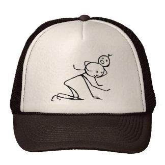 Gorra principal del camionero del cangrejo ningún