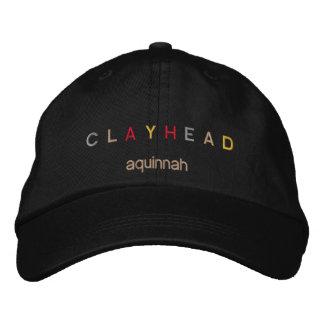 Gorra principal gay de la cabeza de la arcilla gorras bordadas