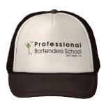 Gorra profesional de los camioneros de la escuela