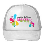 Gorra promocional del artista de maquillaje