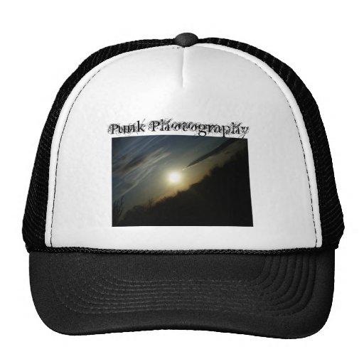 Gorra punky de la fotografía