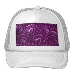 Gorra púrpura Amethyst del casquillo de los remoli