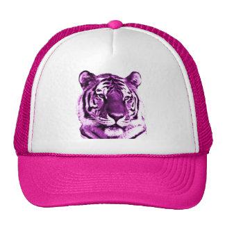 Gorra púrpura del tigre