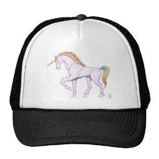 Gorra púrpura del unicornio del arco iris