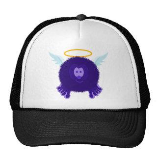 Gorra púrpura oscuro del ángel