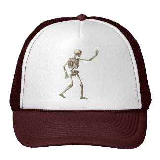 Gorra que agita esquelético