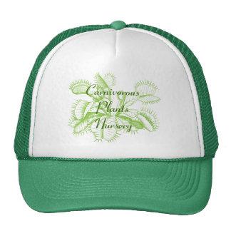 Gorra que cultiva un huerto del atrapamoscas de