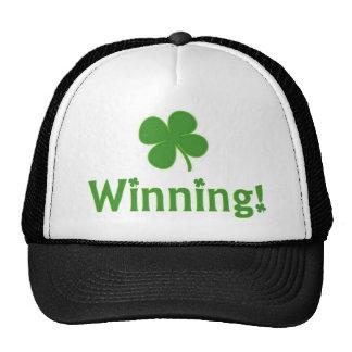 Gorra que gana afortunado