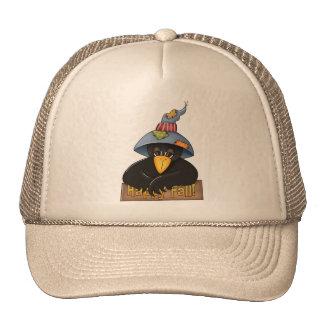 Gorra que lleva del cuervo