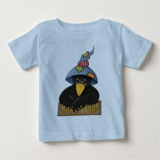 Gorra que lleva del cuervo playera de bebé