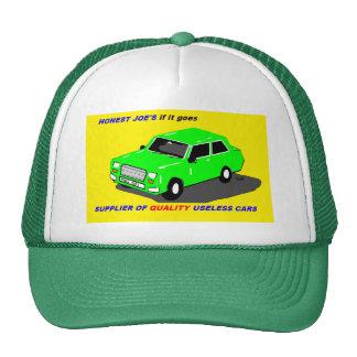 gorra que viaja en automóvili de la parodia