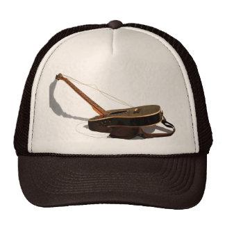 Gorra quebrado de la guitarra