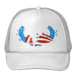 Gorra quebrado del logotipo de Obama