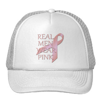 Gorra real del rosa del desgaste de hombres