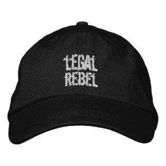 Gorra rebelde legal gorras bordadas