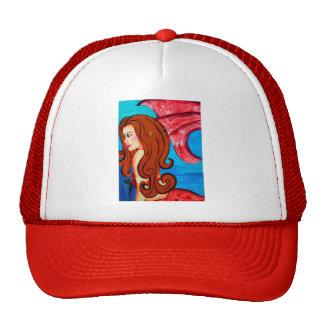 gorra redheaded de la sirena