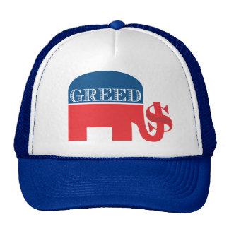 Gorra republicano de la AVARICIA