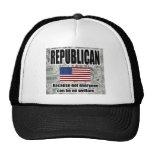 Gorra republicano del bienestar