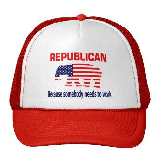 Gorra republicano del trabajo