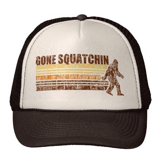 Gorra retro apenado vintage ido de Squatchin
