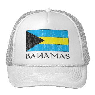 Gorra retro de la bandera de Bahamas