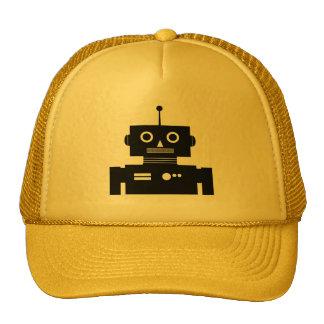 Gorra retro de la forma del robot