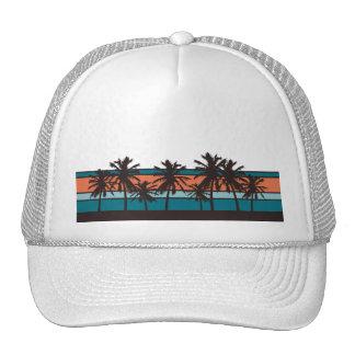 Gorra retro de la playa