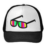 Gorra retro de las gafas de sol