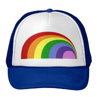 Gorra retro del arco iris