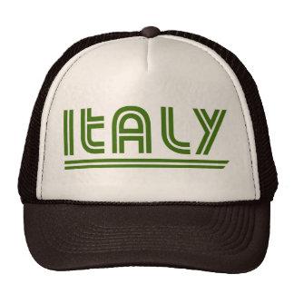 Gorra retro del camionero de Italia