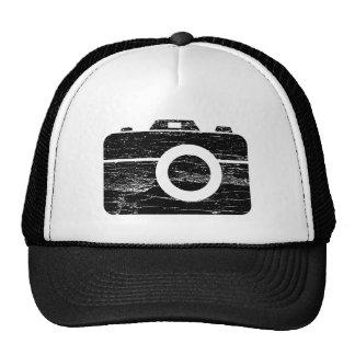 Gorra retro del camionero de la cámara del vintage