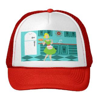 Gorra retro del camionero de la cocina