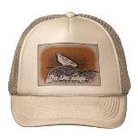 Gorra retro del camionero de la paloma